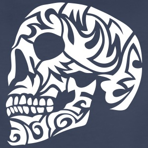 tribal skull dead head 7 T-Shirts - Women's Premium T-Shirt