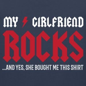 My Girlfriend Rocks Sportswear - Men's Premium Tank