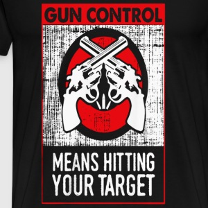 Gun owner - Hitting your target - Men's Premium T-Shirt
