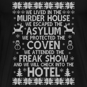 American Horror story hotel - Christmas sweater - Men's Premium T-Shirt