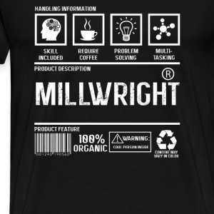 Millwright - Content may vary in color - Men's Premium T-Shirt