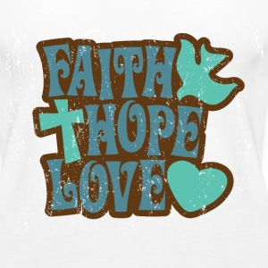 Faith.Hope.Love. Tanks - Women's Premium Tank Top