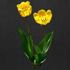Backlit Yellow Tulips Bags & backpacks - Tote Bag