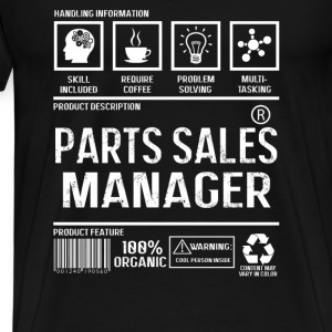 Parts sales manager - Cool person inside - Men's Premium T-Shirt