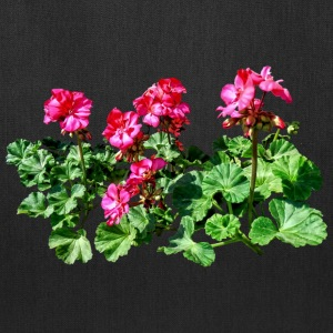 Geraniums In A Row Bags & backpacks - Tote Bag