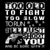Gun - too old to fight I'll just shoot you - Men's Premium T-Shirt