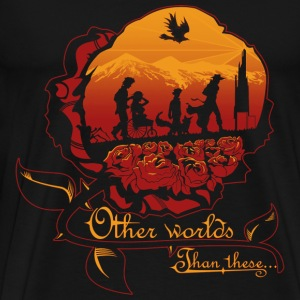 Dark tower- other world than these - Men's Premium T-Shirt
