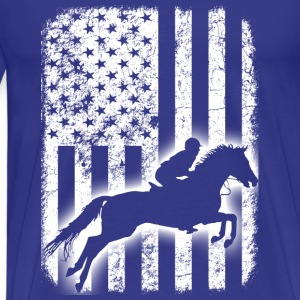 horse riding horse - Men's Premium T-Shirt