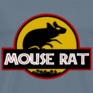 Mouse rat Jurassic park - cute T-shirt - Men's Premium T-Shirt