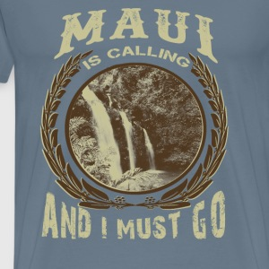 maui is calling - Men's Premium T-Shirt