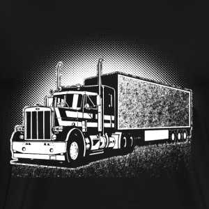 Truck driver - Harvest the grass T-shirt - Men's Premium T-Shirt