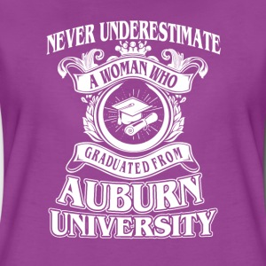 Woman from Auburn University - Women's Premium T-Shirt