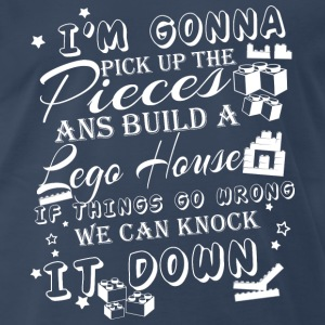 Lego player - Lego House - We can Knock it down - Men's Premium T-Shirt