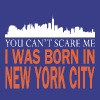 Newyork -you can't scare me was I born in New york - Men's Premium T-Shirt