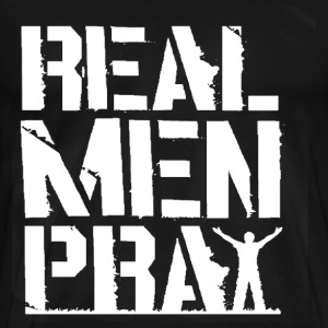 men- real men play - Men's Premium T-Shirt