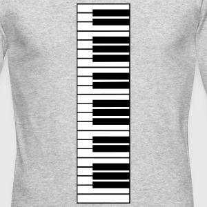 piano, piano keys Long Sleeve Shirts - Men's Long Sleeve T-Shirt by Next Level