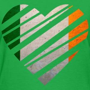 Ireland Heart Women's T-Shirts - Women's T-Shirt