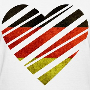 Germany Heart Women's T-Shirts - Women's T-Shirt