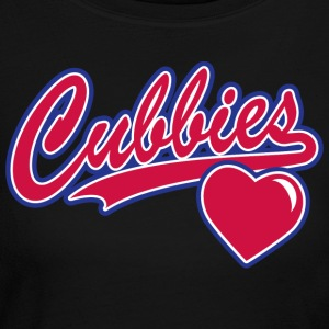 Cubbies Baseball Script - Women's Long Sleeve Jersey T-Shirt