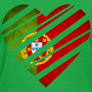 Portugal Heart Women's T-Shirts - Women's T-Shirt