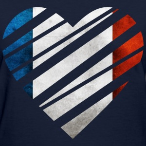 France Heart Women's T-Shirts - Women's T-Shirt