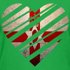 Northern Ireland Heart Women's T-Shirts - Women's T-Shirt