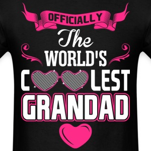 Officially The Worlds Coolest Grandad T-Shirts - Men's T-Shirt