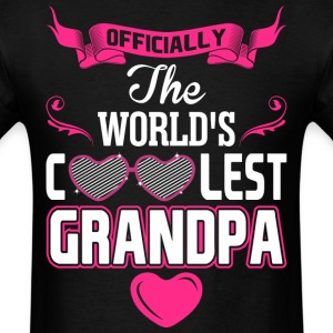 Officially The Worlds Coolest Grandpa T-Shirts - Men's T-Shirt