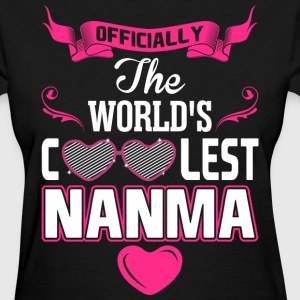 Officially The Worlds Coolest Nanma Women's T-Shirts - Women's T-Shirt