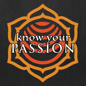 Know Your Passion Sacral Chakra Tote Bag - Tote Bag