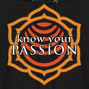 Know Your Passion Sacral Chakra Hoodie - Men's Hoodie