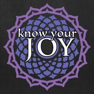 Know Your Joy Crown Chakra Tote Bag - Tote Bag