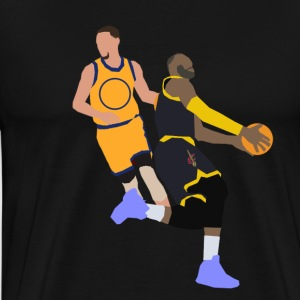 Curry and James Polygon Tee - Men's Premium T-Shirt