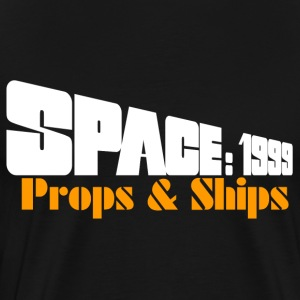 Space: 1999 Props & Ships Double-Sided Tee - Men's Premium T-Shirt