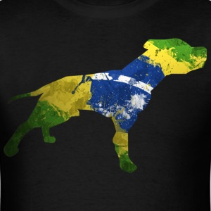 Brazilian pitbull - Men's T-Shirt