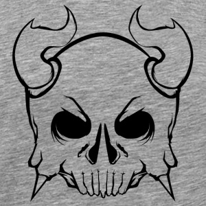 Monster Vikings Skull - Men's Premium T-Shirt