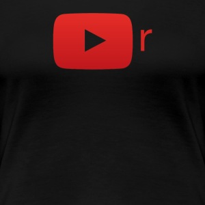 YouTube-r T-Shirt (Women's) - Women's Premium T-Shirt