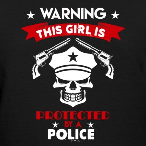 Protected By Police - Women's T-Shirt