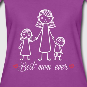 Best mom ever love mommy cool fun tee - Women's Premium T-Shirt