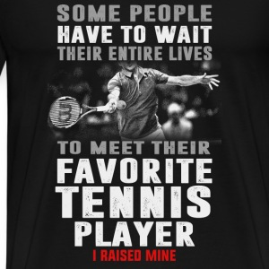tennis-meet their favorite favorite tennis player - Men's Premium T-Shirt