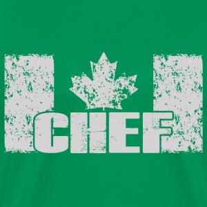 chef- canadian chef - Men's Premium T-Shirt