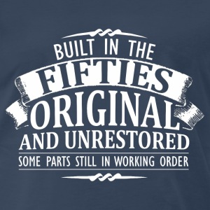 Fifties - built in the fifties original - Men's Premium T-Shirt