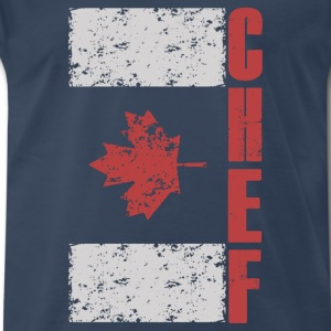 chef - canada chef - Men's Premium T-Shirt