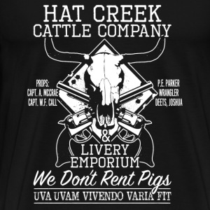 Hat creek cattle company - Men's Premium T-Shirt