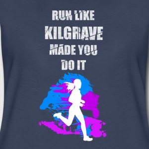Run – Like kilgrave made you do it - Women's Premium T-Shirt