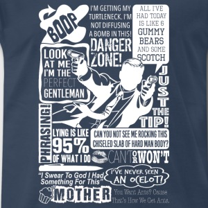 Archer – Look at me, I'm a perfect gentlemen - Men's Premium T-Shirt