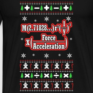 Math Lover - Math and christmas - Men's Premium T-Shirt