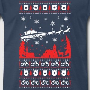 Police - Police officer in Christmas - Men's Premium T-Shirt