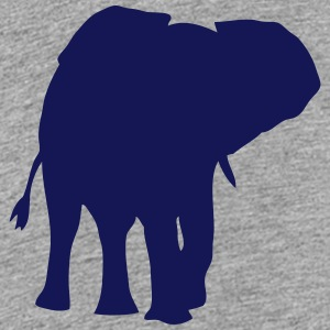 elephant shadow figure 108 Kids' Shirts - Kids' Premium T-Shirt