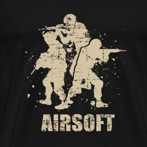 Arisoft Skill – Air Gun - Men's Premium T-Shirt